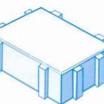 Einzelstein, Öko Pflaster, 1,5mm Abstandshalter, entsiegelte Fläche
