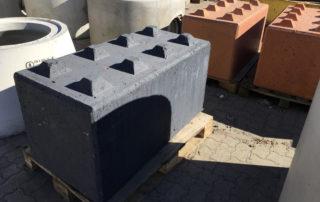 Betonblock, Systembaustein aus Beton, Harzer Brocken